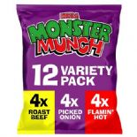 Mega Monster Munch Variety Snacks 12x22g